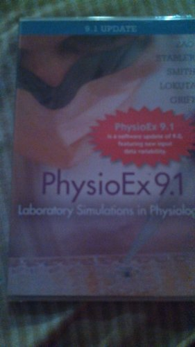 PhysioEx 9. 1 CD-ROM (Integrated Component)   2014 edition cover