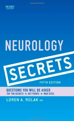 Neurology Secrets  5th 2010 edition cover