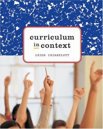 Curriculum in Context   2006 9780534592127 Front Cover