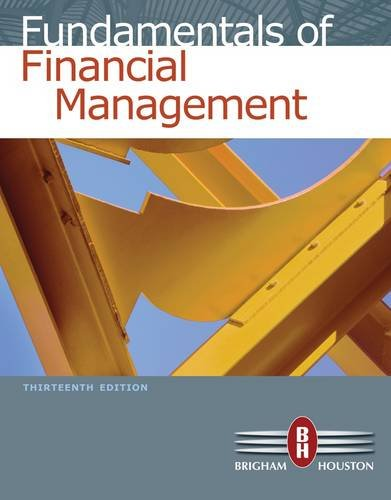 Fundamentals of Financial Management  13th 2013 edition cover