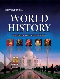 Holt McDougal World History Patterns of Interaction  2010 (Student Manual, Study Guide, etc.) 9780547491127 Front Cover