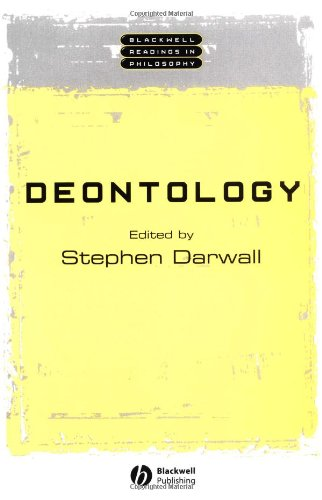 Deontology   2002 edition cover