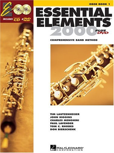 Essential Elements for Band Oboe  2004 edition cover