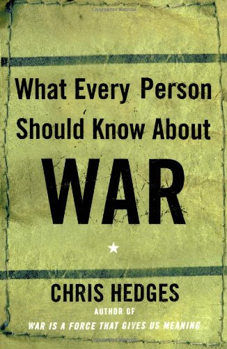 What Every Person Should Know about War   2003 edition cover