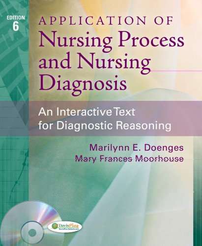 Application of Nursing Process and Nursing Diagnosis An Interactive Text for Diagnostic Reasoning 6th 2013 (Revised) edition cover