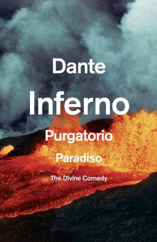 Divine Comedy Inferno, Purgatorio, Paradiso  2013 edition cover
