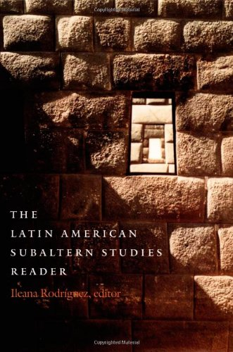 Latin American Subaltern Studies Reader   2001 9780822327127 Front Cover