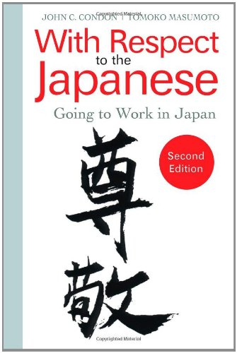 With Respect to the Japanese Going to Work in Japan 2nd 2010 edition cover