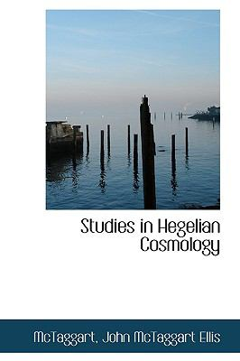 Studies in Hegelian Cosmology N/A 9781113473127 Front Cover