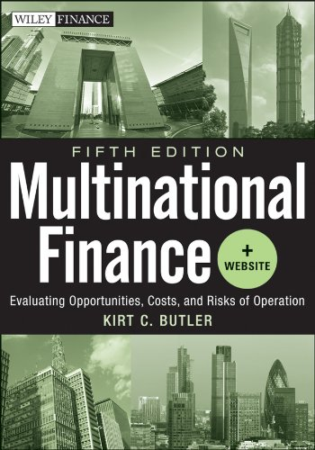 Multinational Finance Evaluating Opportunities, Costs, and Risks of Operations 5th 2012 edition cover