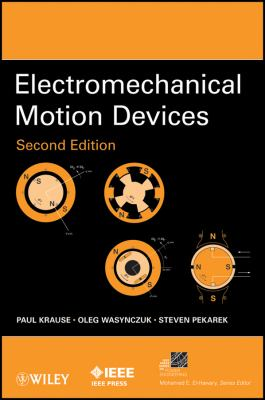 Electromechanical Motion Devices  2nd 2012 edition cover