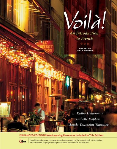 Voila! an Introduction to French: 6th 2013 edition cover