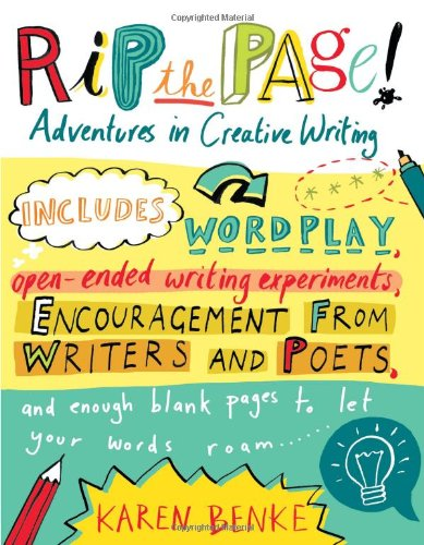 Rip the Page! Adventures in Creative Writing  2010 edition cover