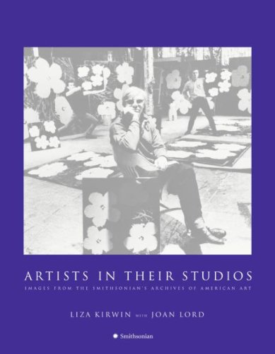 Artists in Their Studios Images from the Smithsonian's Archives of American Art  2007 9780061150128 Front Cover