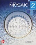 Mosaic Level 2 Reading Student Book  6th edition cover
