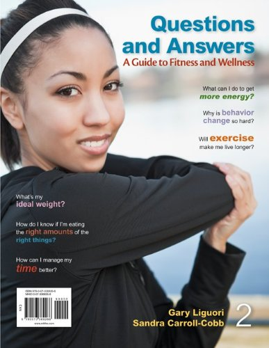 Questions and Answers - A Guide to Fitness and Wellness  2nd 2014 edition cover