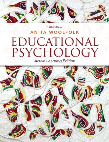 Educational Psychology  12th 2014 edition cover