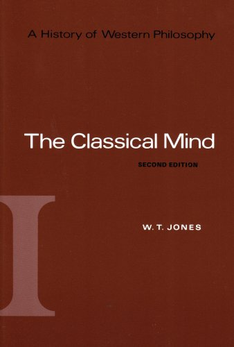History of Western Philosophy The Classical Mind 2nd 1969 (Revised) edition cover
