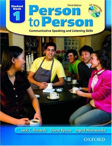 Person to Person Communicative Speaking and Listening Skills 3rd 2005 9780194302128 Front Cover