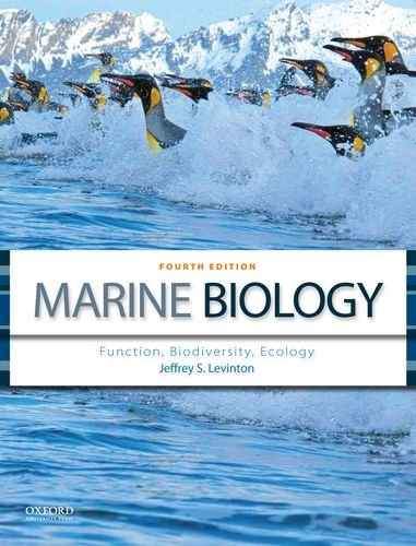 Marine Biology: Function, Biodiversity, Ecology  2013 9780199857128 Front Cover