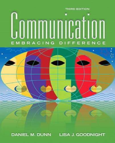 Communication Embracing Difference 3rd 2011 edition cover