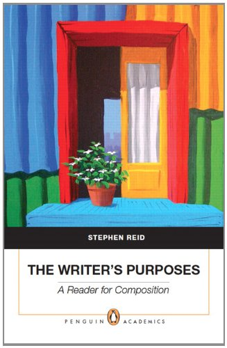 Writer's Purposes A Reader for Composition  2011 edition cover