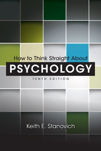 How to Think Straight about Psychology  10th 2013 9780205914128 Front Cover