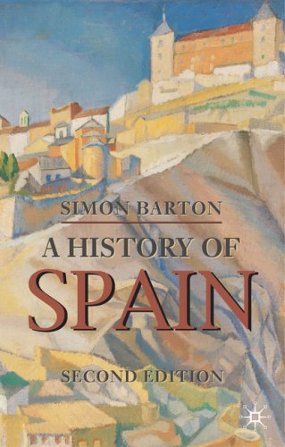 History of Spain  2nd 2009 (Revised) 9780230200128 Front Cover