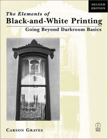 Elements of Black and White Printing  2nd 2001 (Revised) edition cover