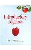 Introductory Algebra  4th 2012 edition cover