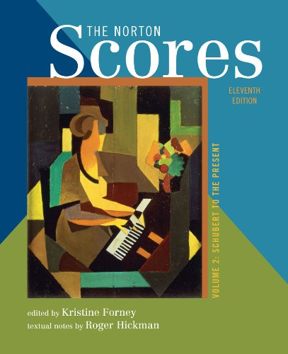Norton Scores A Study Anthology 11th 2011 edition cover