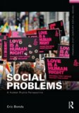 Social Problems A Human Rights Perspective  2014 edition cover