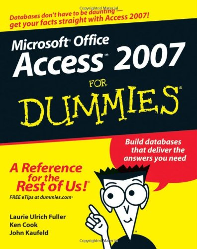 Access 2007 for Dummies   2007 edition cover