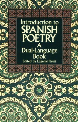 Introduction to Spanish Poetry   1991 edition cover