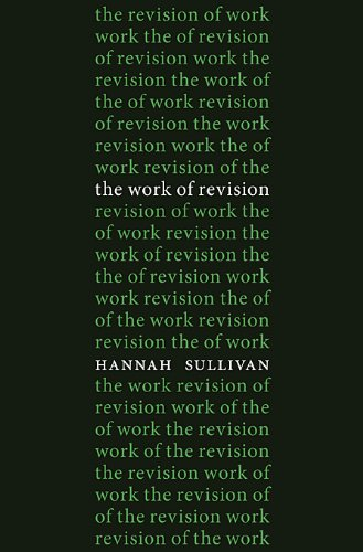 Work of Revision   2013 9780674073128 Front Cover