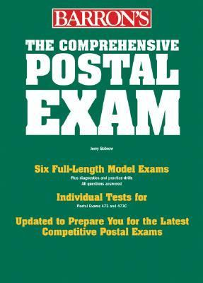 Barron's Comprehensive Postal Exam 473/473-C   2006 edition cover