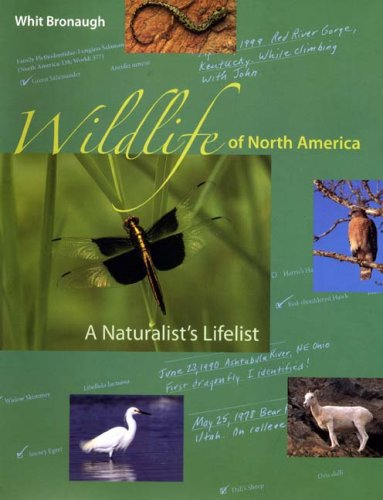 Wildlife of North America A Naturalist's Lifelist  2006 edition cover