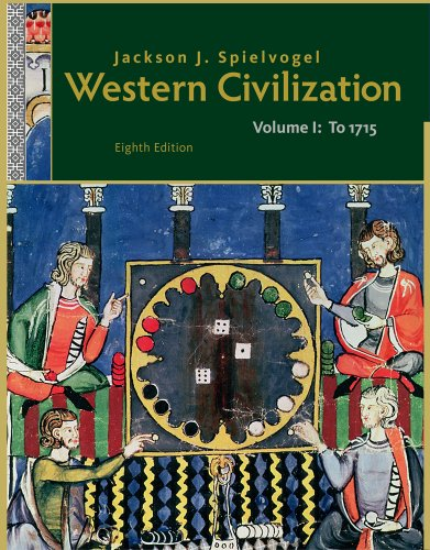 Western Civilization - To 1715  8th 2012 edition cover