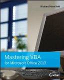 Mastering VBA for Microsoft Office 2013   2013 edition cover