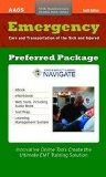 Emergency Care and Transportation of the Sick and Injured Preferred Package Digital Supplement   2013 edition cover