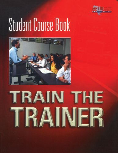 Train the Trainer Student Course Book   2004 (Student Manual, Study Guide, etc.) 9781401805128 Front Cover
