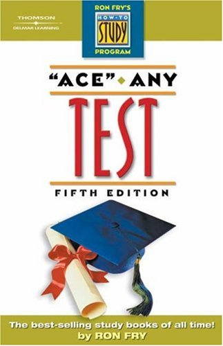 Ace Any Test  5th 2005 (Revised) 9781401889128 Front Cover