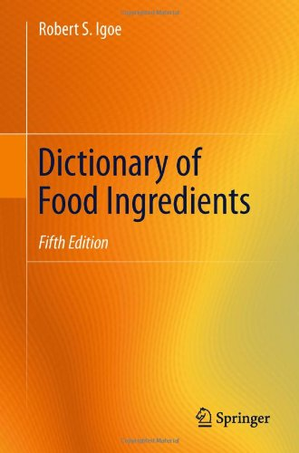 Dictionary of Food Ingredients  5th 2011 edition cover