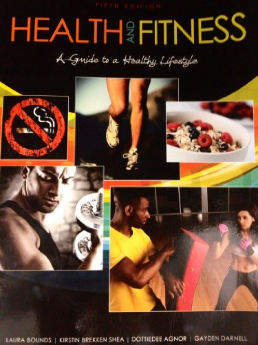 Health and Fitness A Guide to a Healthy Lifestyle 5th (Revised) edition cover