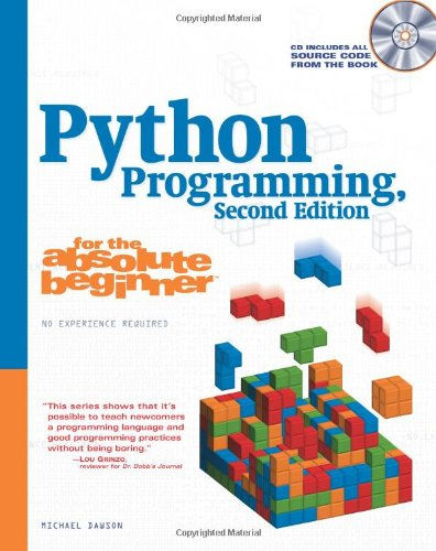 Python Programming for the Absolute Beginner  2nd 2006 (Revised) edition cover
