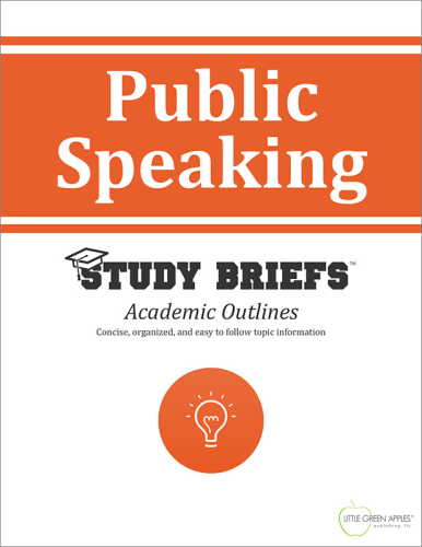 Public Speaking   2015 9781634261128 Front Cover