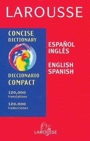 Larousse Concise Dictionary   1999 edition cover