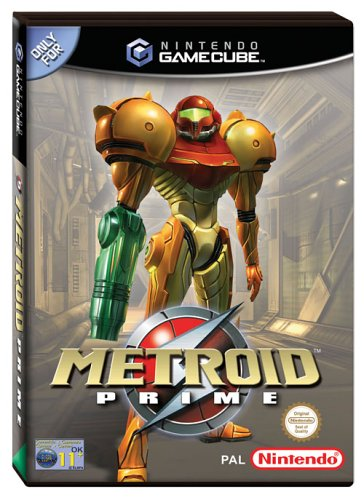 Metroid Prime GameCube artwork