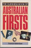 Guinness Book of Australian Firsts  N/A edition cover