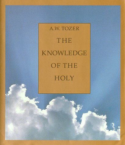 Knowledge of the Holy  Large Type  9780060684129 Front Cover